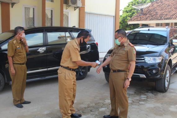 Kadis Dikbud Lampung Tinjau KBM Tatap Muka Langsung SMA dan SMK di Pesawaran