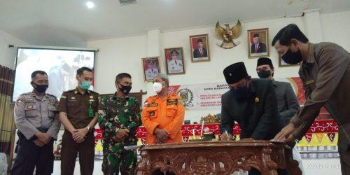 Advertorial: DPRD Lamteng Gelar Paripurna Persetujuan Bersama Dua Raperda dan Propemperda