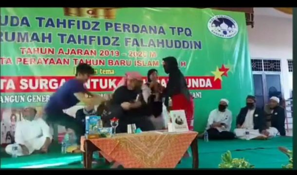 Pelaku Penusuk Syekh Ali Jaber di Masjid Falahudin Alami Gangguan Jiwa