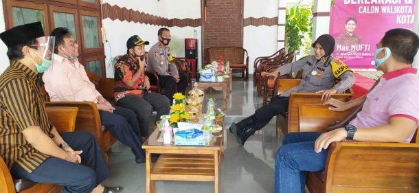 Rumah Aspirasi Metro Bahagia Milik Mufti Salim Didatangi Polisi