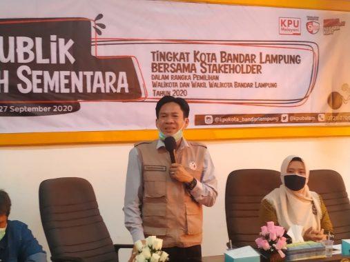 Ketua Bawaslu Bandar Lampung Candrawansah Ajak Warga Proaktif Cek Nama di Daftar Pemilih Sementara