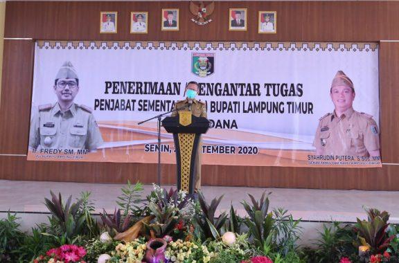 Sekda Lampung Fahrizal Darminto Minta ASN Sukseskan Pilkada di Tengah Pandemi