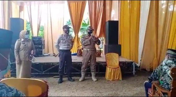 Pol PP Kota Metro Setop Hiburan Organ Tunggal di Pesta Pernikahan