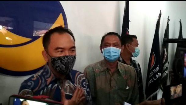 Pilkada Way Kanan: Usai Terima Rekomendasi Partai NasDem, Raden Adipati Surya Optimistis Diusung PKS dan PDIP