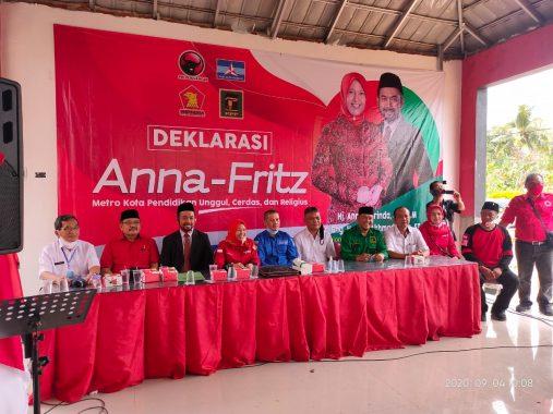 Pilkada Bandar Lampung: Berkas Pendaftaran Eva-Deddy Dinyatakan Lengkap, Wiyadi Jadi Ketua Tim Pemenangan