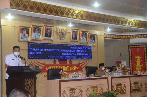 Pemkab Lampung Utara Ajukan Usulan Pembentukan BNN Kabupaten