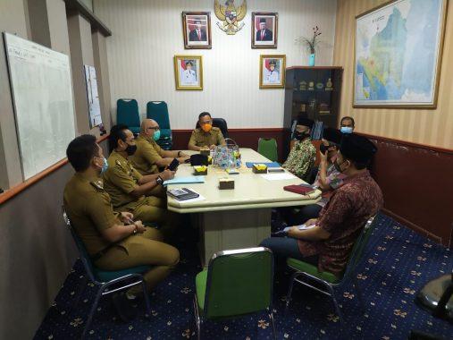 Pemkab Tubaba Bahas Rancangan Perbub Pedoman Penerapan Disiplin dan Protokol Kesehatan