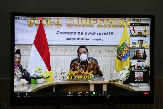 Gubernur Arinal Sampaikan Strategi Perang Lawan Covid-19