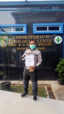 Berhasil Lawan Covid-19, Antoni Imam Siap Menangkan Pilkada Lampung Selatan