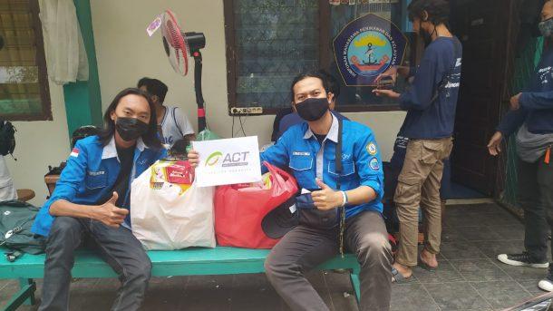 Mitra Shoping Charity ACT Lampung Bidang Kuliner Dukung Kegiatan World Clean Up Day 2020