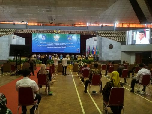 Wkil Presiden Ma'ruf Amin Harap Unila Jadi Lumbung Pencetak SDM Berkualitas