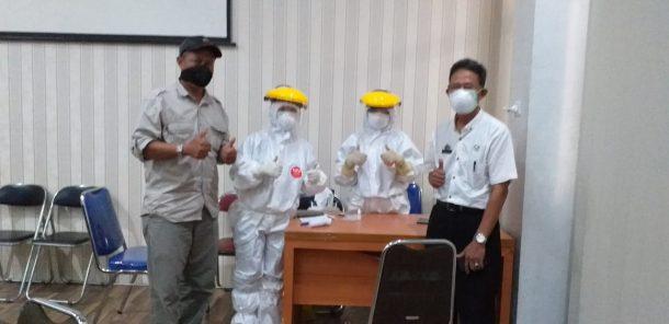 Sebanyak 24 Anggota DPRD Kota Metro Jalani Rapid Test, Ini Hasilnya