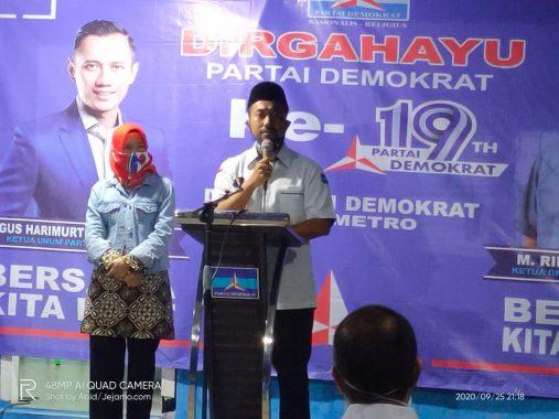 HUT Partai Demokrat Ke-19, Fritz Akhmad Nuzir Beri Kado Spesial