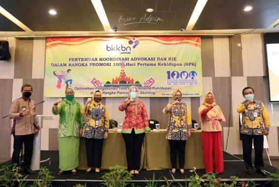Pemprov Lampung Dalami Upaya Penurunan Angka Stunting di Tahun 2020