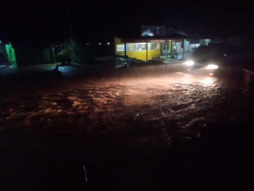 Kecamatan Semaka Tanggamus Dilanda Banjir