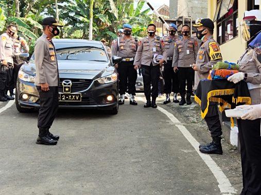 Wakapolda Kunjungi Polres Tanggamus