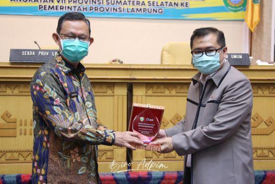 Pemprov Lampung Sambut Baik Kunjungan Pemprov Sumatera Selatan