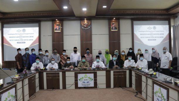 UIN Raden Intan Lampung dan Instidla Sepakat Kerja Sama