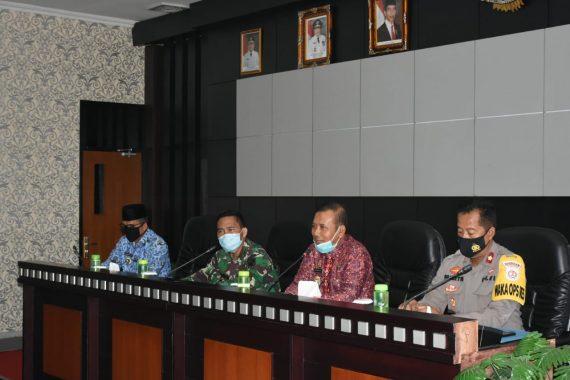 Pemkab Tulangbawang Barat Lanjutkan Pembahasan Pemilihan Serentak Kepala Tiyuh