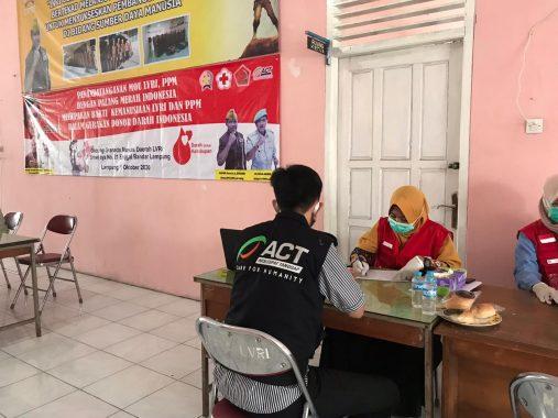 Relawan MRI-ACT Dukung Donor Darah