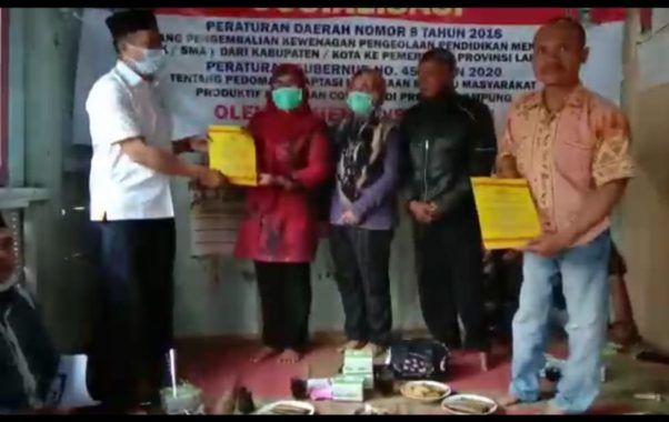 ACT Lampung Luncurkan Gerakan Bangkit Bangsaku