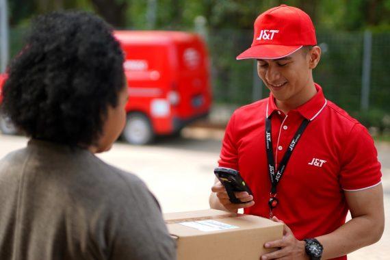 J&T Lancarkan Pengiriman Sampai 8 Juta Paket
