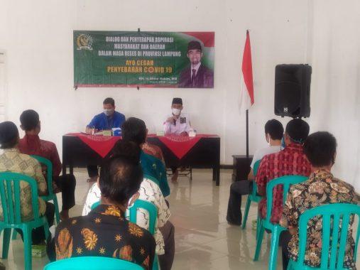 Abdul Hakim Dengar Curhat Anggota Salimah Lampung Selatan