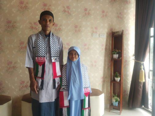 Sisihkan Uang Jajan 3 Tahun, Malda 6 Tahun Bisa Bantu Warga Palestina