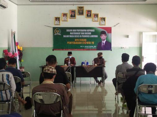 Giliran Warga Sukarame Bandar Lampung Curhat kepada Anggota DPD Asal Lampung Abdul Hakim