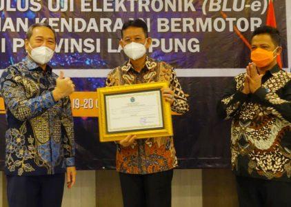 Unit Uji Ranmor Lampung Tengah Raih Tipe A, Terbaik di Sumatera