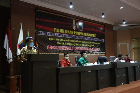 Pelantikan Pengurus IMM Lampung Selatan, Sekda Thamrin Harap Bisa Birsinergi dengan Pemerintah Daerah