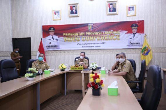 Pemprov Lampung Ikuti Lokakarya Pengendalian Perubahan Iklim dan Dampak Pandemi Covid-19