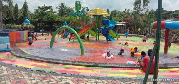 Ramai Pengunjung, Taman Metro Indonesia Indah Kedepankan Protokol Kesehatan