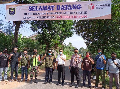 Yosorejo Kota Metro Jadi Pilot Project Kelurahan Anti Politik Uang