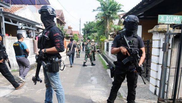 Densus 88 Amankan Empat Terduga Teroris, Satu Ditangkap di Kota Metro