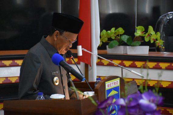 Advertorial: Paripurna DPRD Kota Metro, Wali Kota Metro Akan Buat Perda Protokol Kesehatan