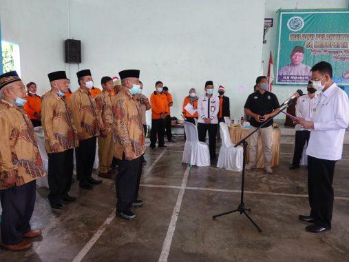 Pjs Bupati Lampung Tengah Lantik Pengurus MUI dan FKUB Periode 2019-2024