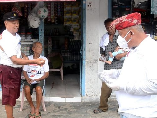 Yusuf Kohar Kampanye Door to Door di Segala Mider Tanjungkarang Barat