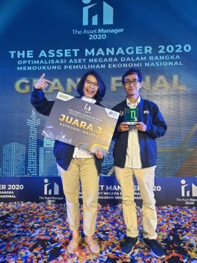 PGN Raih Juara 3 The Asset Manager 2020
