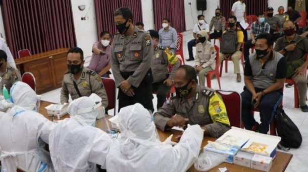 Usai Diklat di Bandar Lampung, Dua Anggota Aktif Polres Metro Positif Covid-19