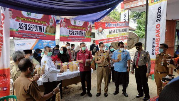 PT Pos Indonesia Gunung Sugih Lampung Tengah Sukses Salurkan BST Tahap Sembilan