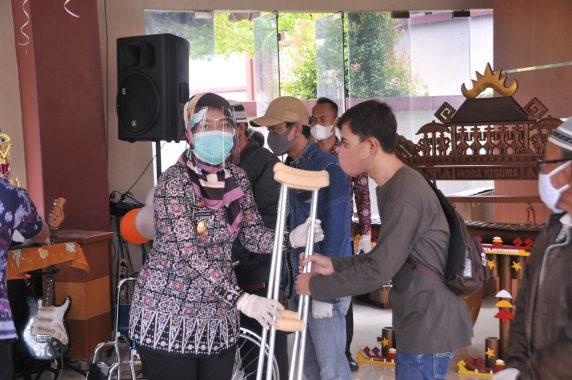 Wagub Nunik Hadiri Peringatan Hari Disabilitas Internasional Provinsi Lampung