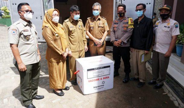 Sebanyak 2.587 Vaksin Sinovac Tiba di Lampung Selatan, Tenaga Kesehatan Jadi Prioritas