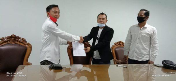 Zuli Ardiansyah Terima Mandat Sebagai Ketua DPC Petanesia Kota Metro