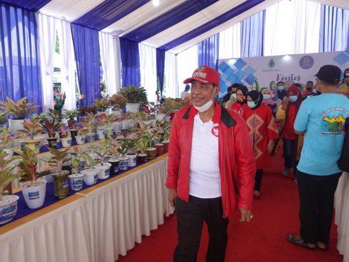 Bupati Lampung Tengah Buka Kontes Aglaonema Se-Sumbagsel