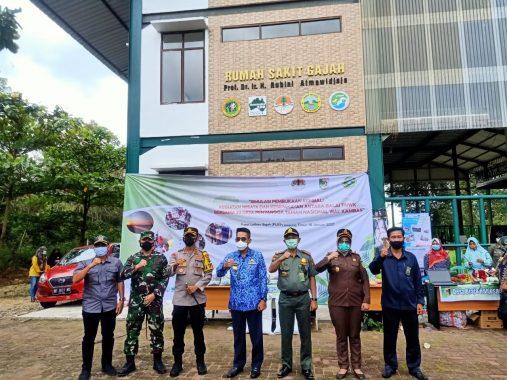 Bupati Lampung Timur Hadiri Simulasi Kegiatan Wisata di Taman Nasional Way Kambas
