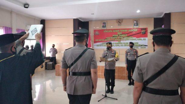 Mutasi Jabatan Polres Tanggamus, Posisi Kasat Reskrim dan Kapolsek Pugung Berganti Pimpinan