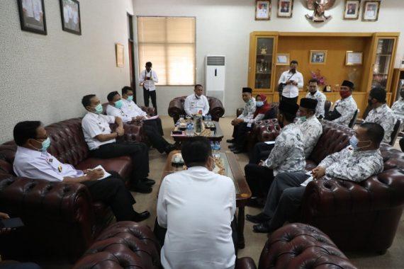 Nanang Ermanto Audiensi dengan PGSI dan Guru Ngaji Se-Lampung Selatan