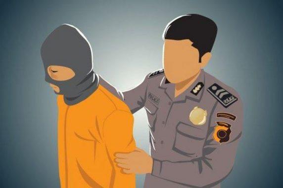 Polisi Bekuk Tersangka Pencurian Kayu di Way Jepara Lampung Timur