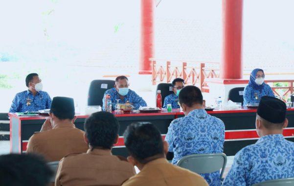 Kasus Positif Covid-19 Meningkat, Bupati Lampung Selatan Minta Perangkat Desa Tak Gelar Kegiatan yang Mengundang Kerumunan